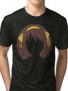 Minimal Haruhi Suzumiya Tri-blend T-Shirt