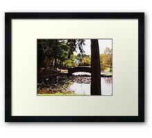 Fall Waterscapes Framed Print