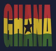 Ghana + flag Kids Clothes