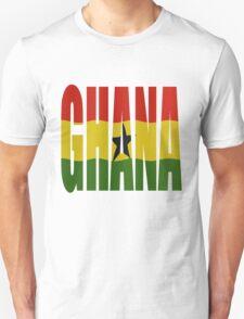 Ghana + flag T-Shirt