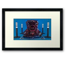 The Method - Abstract CG Framed Print