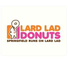 Lard Lad Donuts Art Print