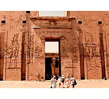 Edfu Temple of Horus Photographic Print