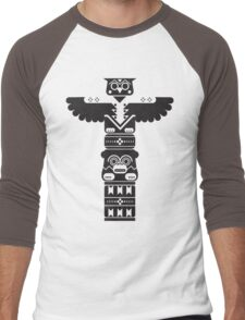 Totem Pole Men's Baseball ¾ T-Shirt