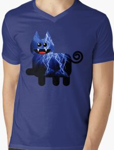 KITTEN 9/10 Mens V-Neck T-Shirt