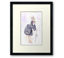 miss Ro co co Framed Print