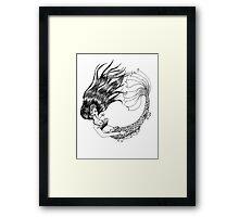 The Legendary Aquatic Creature Framed Print