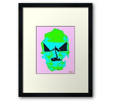 Turquoise Saturday Framed Print
