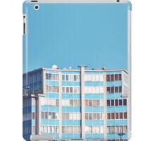 sky Blue building iPad Case/Skin