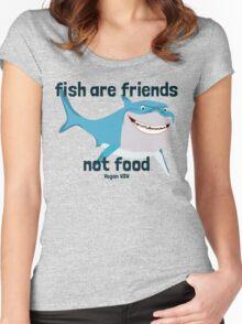 VDW Shark Women's Fitted Scoop T-Shirt