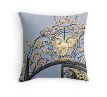 Entering Catherine Palace Throw Pillow