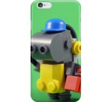 lego robot - colour iPhone Case/Skin