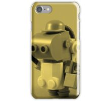 lego robot - tint iPhone Case/Skin