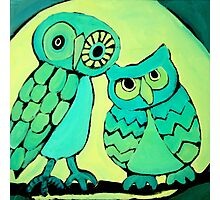 Two Hoots Photographic Print