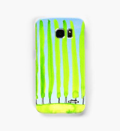 Enthusiastic cypress Samsung Galaxy Case/Skin