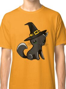 Myu the Candyfloss Cat... on Halloween! Classic T-Shirt
