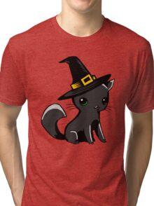 Myu the Candyfloss Cat... on Halloween! Tri-blend T-Shirt