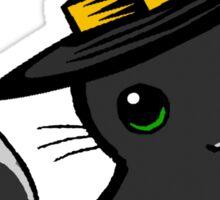 Myu the Candyfloss Cat... on Halloween! Sticker