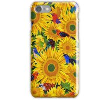 Sassy Sunflowers iPhone Case/Skin