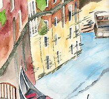 The Gondola by Eva  Ason