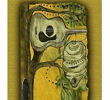 Digital hive by Deborah Vicino