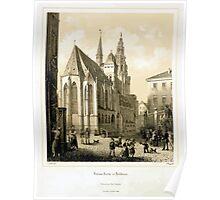Johannes Läpple Kilianskirche Heilbronn 1850 Poster