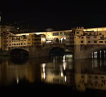 The Ponte Vecchio by Keith Sutherland