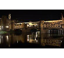 The Ponte Vecchio Photographic Print