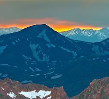 Mount Spaulding Colorado by CrowningGlory