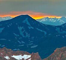 Mount Spaulding Colorado by CrowningGlory
