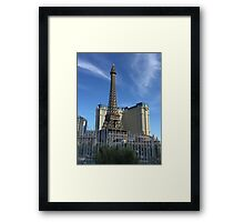 Eiffel tower and fountains  Framed Print