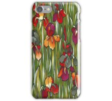 Autumn Iris Meadow iPhone 4 Case iPhone Case/Skin