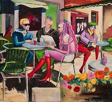 Café Marseille by Elisabeta Hermann