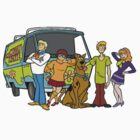 The Scooby Gang by tieflores