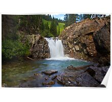 Crystal River Waterfall Poster