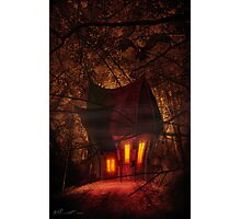 Crooked House Photographic Print