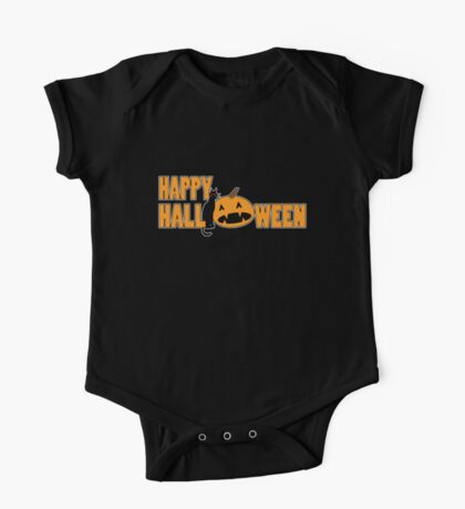 happy halloween t One Piece - Short Sleeve
