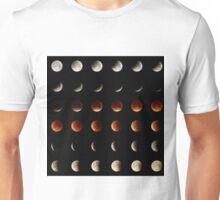 2015 Lunar Eclipse Matrix Unisex T-Shirt