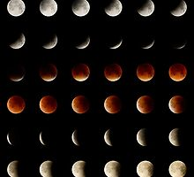 2015 Lunar Eclipse Matrix by emiddelkoop