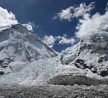 Khumbu Icefall by Jan Vinclair