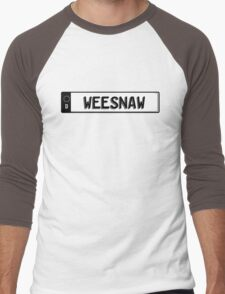 Euro plate simple - weesnaw Men's Baseball ¾ T-Shirt