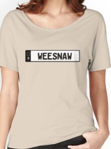 Euro plate simple - weesnaw Women's Relaxed Fit T-Shirt