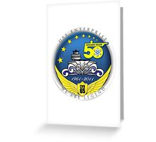 USS Enterprise (CVN-65) at 50! Greeting Card