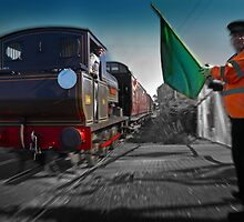 The Train Arriving at... by Geoff Carpenter