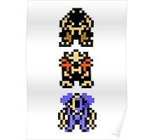 Retro Beasts Overworld Poster