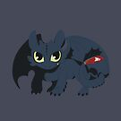 Snaggle Toothless by Okida