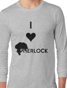 Love Sherlock Long Sleeve T-Shirt