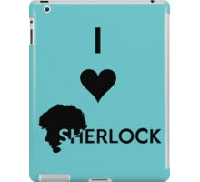 Love Sherlock iPad Case/Skin