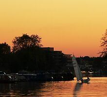 Kingston Sunset 10 by Will Goodwin