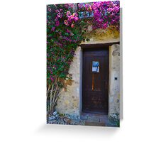 Cottage Door Greeting Card